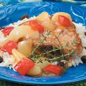 Pear-Fect Pork Supper