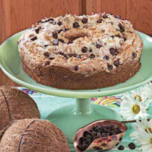 Coconut Chip Coffee Cake