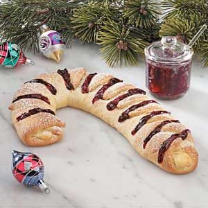 Holiday Cherry Cheese Danish