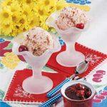 Cherry Crunch Ice Cream