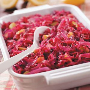 Red Cabbage Casserole