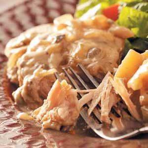 Simple Pork Chop Dinner