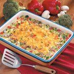 Broccoli Rice Hot Dish