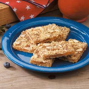Pineapple Almond Bars