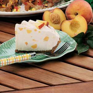 Frosty Peach Pie Supreme