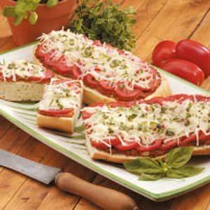 Italian Red Pepper Bruschetta