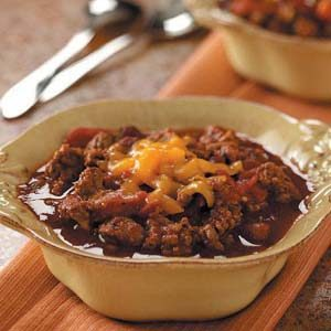 Spiced Chili