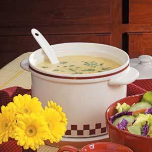 Homemade Cheesy Potato Soup