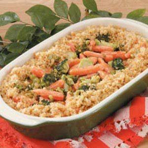 Carrot Broccoli Casserole