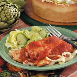 Tomato Artichoke Chicken