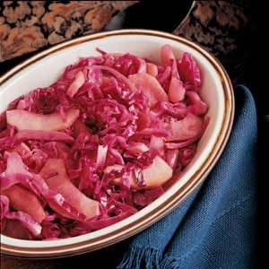 Sweet-and-Sour Red Cabbage