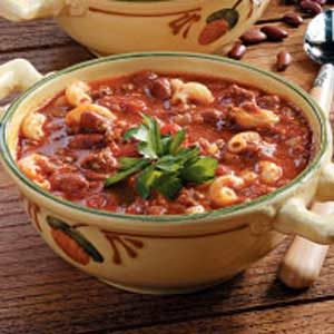 Hearty Chili Mac