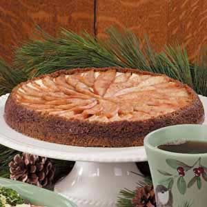Gingersnap Pear Tart