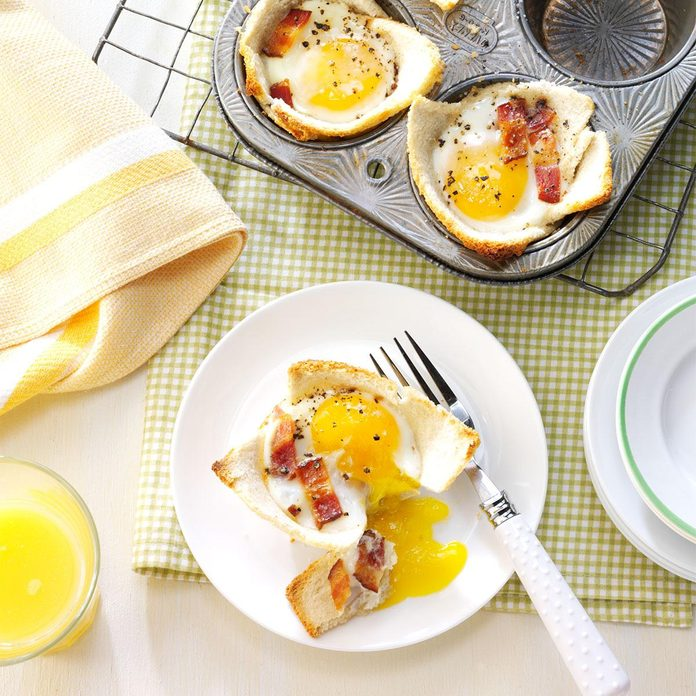 Maple Toast and Eggs
