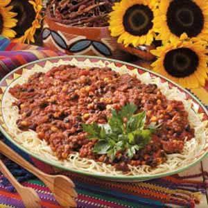 Mexican Spaghetti Sauce