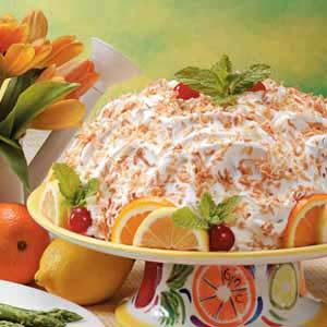 Make-Ahead Lemon Bombe