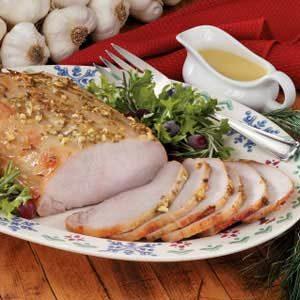 Honey-Mustard Pork Roast