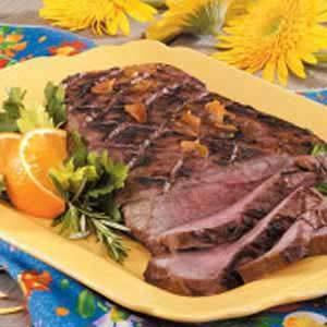 Grilled Citrus Steak
