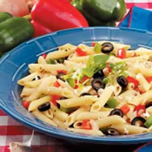 Bell Peppers and Pasta