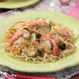 Zippy Shrimp Linguine