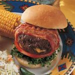 Stuffed Bacon Burgers