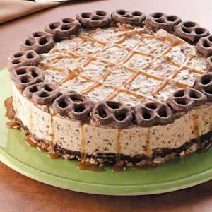 Ice Cream Pretzel Cake
