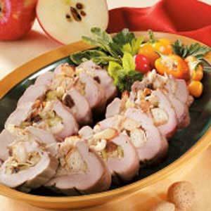 Apple-Stuffed Pork Tenderloin