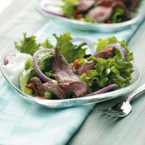 Beef Strip Salad
