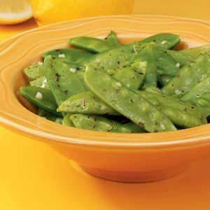Lemon-Butter Snow Peas