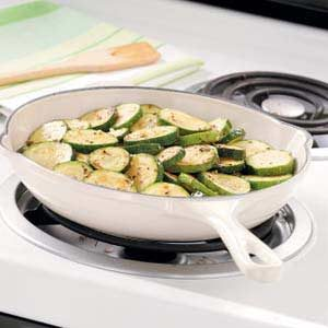 Garlic Oregano Zucchini