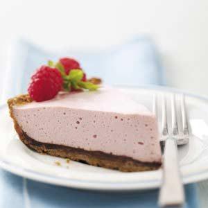 Chocolate-Raspberry Mousse Pie