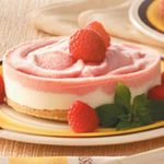 Frozen Raspberry Cheesecakes