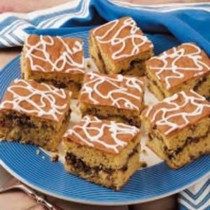 Glazed Cinnamon-Nut Coffee Cake