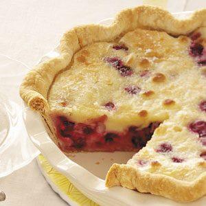 Sour Cream Cherry Pie