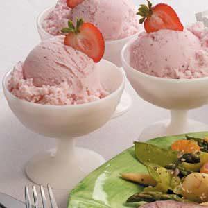 Frozen Strawberry Yogurt