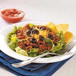 Hearty Ground Beef Salad