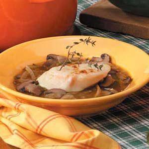 Portobello Mushroom Onion Soup