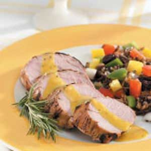Honey-Herb Pork