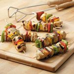 Honey-Citrus Chicken Kabobs