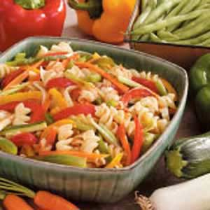 Stir-Fried Veggies with Pasta