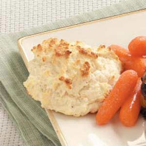 French Onion Drop Biscuits