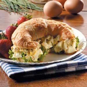 Egg Salad and Bacon Sandwich