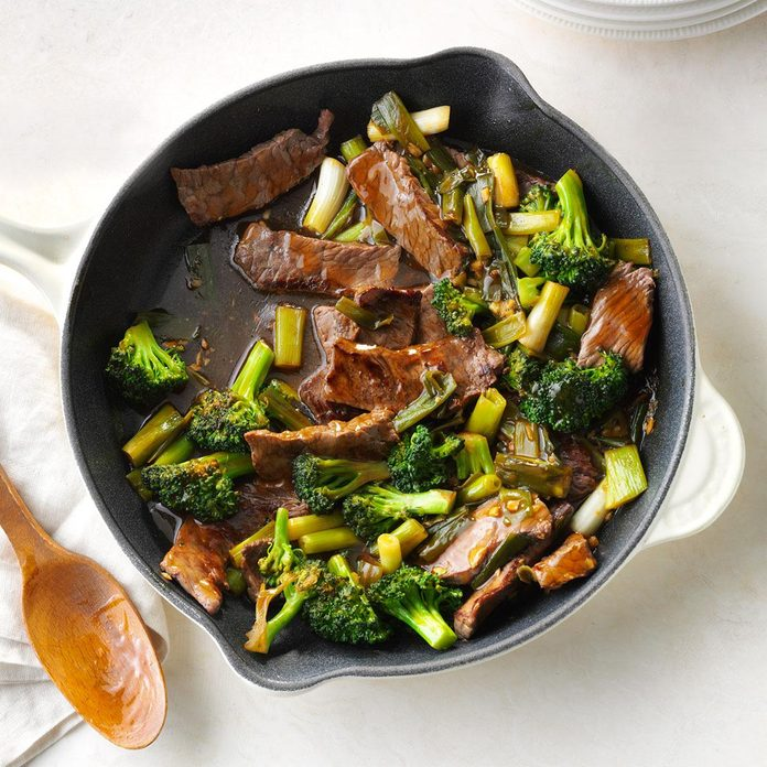 Day 4 Dinner: Saucy Beef with Broccoli