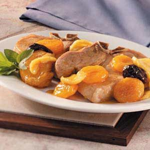 Pork Chops with Fruit