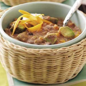 Black Bean Corn Chowder