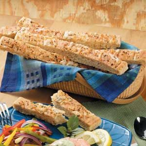 Garlic Cheese Breadsticks