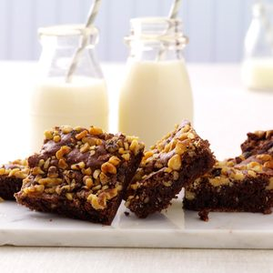 Fudge Nut Brownies