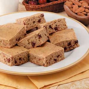 Cherry-Almond Snack Cake