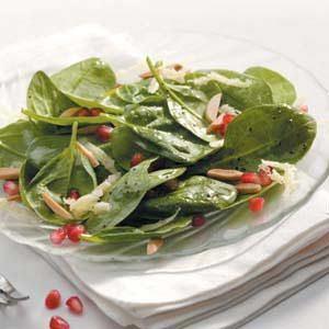 Pomegranate Spinach Salad