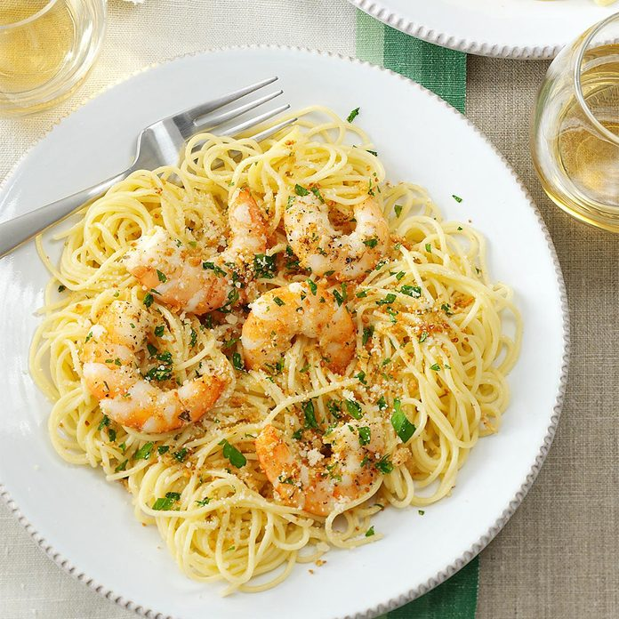 Inspired by: Garlic Shrimp Scampi